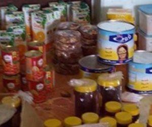 ضبط 7 أطنان مواد غذائية مجهولة المصدر  خلال حملة تموينية في البحيرة