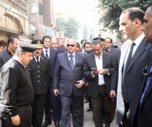 محافظة القاهرة: إخلاء العقارات المجاورة لعقار روض الفرج المنهار (صور)