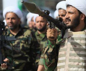 """مصير """"الحشد الشعبى"""" بالعراق .. الصدر يطالبه بتسليم سلاحه و الخزعلي:"""" سنقاتل دواعش السياسة"""""""