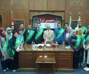 لأول مرة .. الفتيات يكتسحن تشكيل اتحاد طلاب دار علوم القاهرة