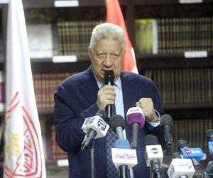 مرتضى منصور يعتزم عرض فيديو يكشف توقيع نجم صفقة القرن لنادي الزمالك