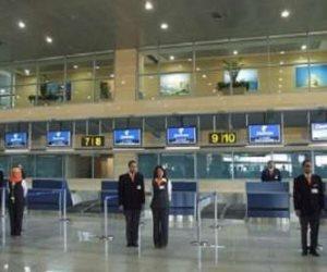 ضبط مهندسة بترول حاولت تهريب 27 ألف دولار و45 ألف ريال داخل فوط صحية وحمالة صدر بمطار برج العرب