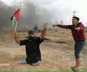 استشهاد العقيد القعيد إبراهيم أبو ثريا يشعل مواقع التواصل الإجتماعي (صور)