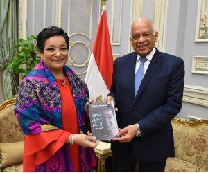 أنيسة حسونة: إقرار قانون مفوضية المساواة أبلغ رد على زعم وجود اضطهاد ديني بمصر