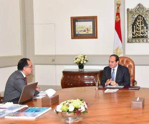 السيسى يوجه بالإسراع في تطوير قطاع النقل في مصر بشكل شامل