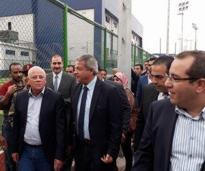 وزير الشباب: الافتتاح التجريبي للقرية الأوليمبية ببورسعيد1 يناير  (صور)