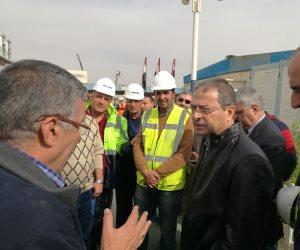 الكهرباء: نسبة الإنجار فى تنفيذ محطة العاصمة الإدارية الجديدة 96%