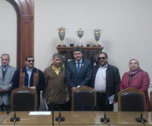 علوم القاهرة تشارك في الإحتفال باليوم العالمي للمعاق (صور)