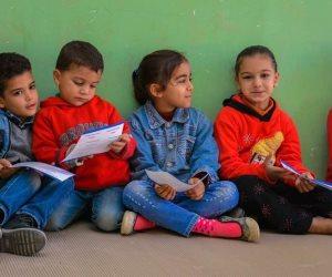 معسكرات لتعليم النظافة الشخصية لتلاميذ مصريين وسوريين بالمرحلة الإبتدائية في 6 أكتوبر