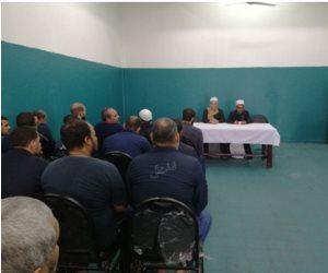 وزارة الداخلية تنظم ندوة دينية لنزلاء سجون وادي النطرون (صور )