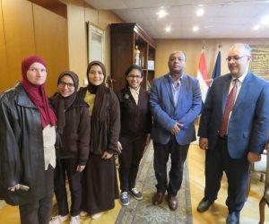 مديرية أمن الغربية تستضيف عددا من طلاب المدارس برفقة مشرفيهم (صور)