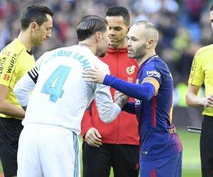 15 دقيقة.. هدف ملغي وحذر دفاعي في كلاسيكو ريال مدريد وبرشلونة (فيديو)
