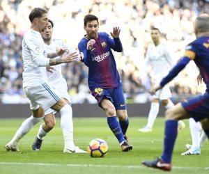 ميسي يعزز تقدم برشلونة بالهدف الثاني أمام ريال مدريد