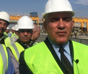 وزير الري يتفقد مشروع قناطر أسيوط الجديدة ومحطتها الكهرومائية (صور )