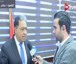 """وزير الصحة يكشف لـ"""" ON Live"""" قرار جديد بشأن مصنع ألبان"""" لاكتو مصر"""""""