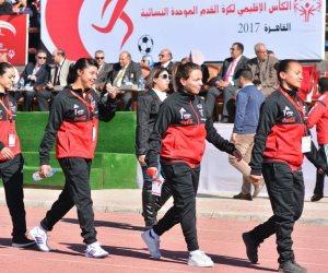 نصف دستة أهداف في افتتاحية تصفيات أول كأس إقليمي لكرة القدم النسائية الموحدة للأولمبياد الخاص (صور)