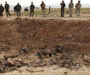"""العثور على مقبرة جماعية بالعراق تضم 24 جثة لإيزيديين من ضحايا """"داعش"""""""