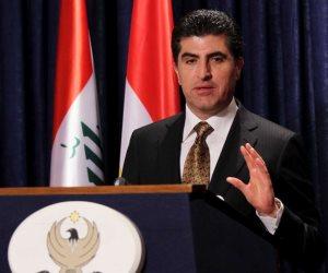 رئيس حكومة كردستان: نرغب فى الحفاظ على استقرار وسلامة العراق