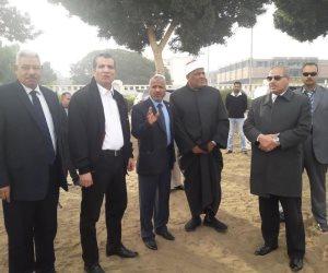 شومان والمحرصاوى يتفقدان فرع جامعة الأزهر بأسيوط (صور)