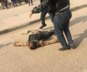 أول صور للإرهابي منفذ هجوم كنيسة حلوان.. واستشهاد شرطيين (صور)