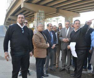 محافظة الجيزة تضع خطة لتحقيق الانسياب المرورى بمحور صفط اللبن (صور)