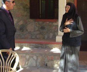 رئيس مدينة أبورديس يتفقد دير الراهبات بوادى فيران جنوب سيناء (صور)
