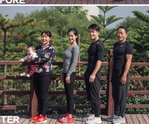أسرة صينية تتأخذ قرارا جماعيا لإنقاص الوزن خلال 6 أشهر.. بالإرادة نجحوا ووصلوا للوزن المثالي