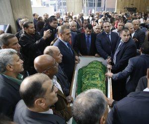 وداعا إبراهيم نافع.. زوجة رئيس ووزراء وشخصيات عامة تودع محاور الزعماء