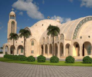 """كاتدرائية العاصمة الإدارية الجديدة تنهى استعداداتها لقداس عيد الميلاد """"صور"""""""
