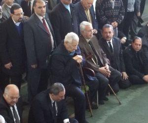 كبار رجال الصحافة يشاركون في وداع إبراهيم نافع  (صور)