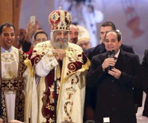 اليوم.. البابا تواضروس يترأس قداس عيد الميلاد فى كاتدرائية العاصمة الإدارية بحضور الرئيس السيسى