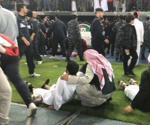 نتيجة تدافع الجماهير.. إصابة 40 شخصا فى  سقوط حاجز بأحد مدرجات استاد جابر بالكويت