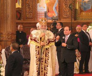 البابا تواضروس: نرحب برئيس وزراء إثيوبيا وبالعلاقات الطيبة على مستوى الكنيسة والدولة