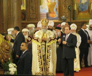 البابا تواضروس: العاصمة الجديدة ستباهي عواصم العالم