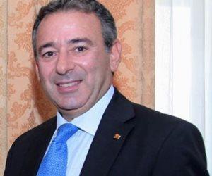 السفير المصرى بالأردن ينقل تهنئة السيسى للمسيحيين فى عمان بعيد الميلاد