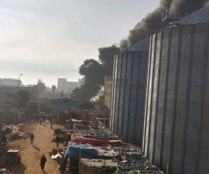 حريق بمصنع بمنطقة برج العرب الصناعية بالإسكندرية
