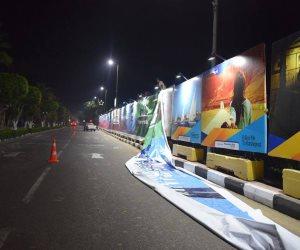 أضخم جدارية بالأقصر  تستقبل 3 آلاف متسابق بماراثون زايد الخيري الجمعة المقبلة