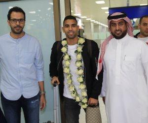 مؤمن زكريا يصل جدة تمهيدا للانضمام للأهلي السعودي (صور)