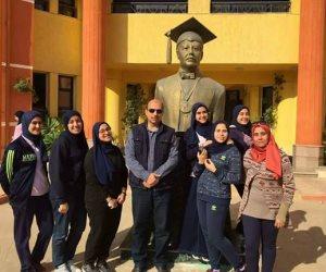 مدير مدرسة المتفوقين بكفر الشيخ: تمثال زويل سر حصول الطلاب على جوائز عالمية