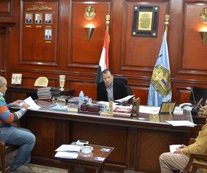 """محافظ الأقصر يبحث مع """"مصر الخير""""  أوضاع المشروعات بمختلف القرى والمدن"""
