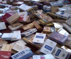 ضبط 1600 علبة سجائر مهربة جمركيا بالغردقة فى البحر الأحمر