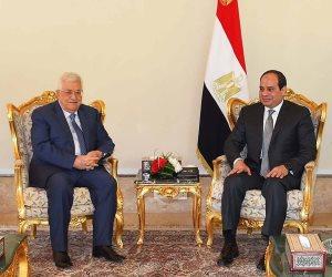 الرئيس الفلسطيني يهنئ الرئيس السيسي بالذكرى الخامسة لثورة 30 يونيو