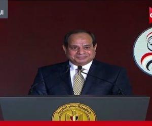 حكاية وطن.. الرئيس السيسي: مشروعات مصر تخطت الـ2 ترليون جنيه