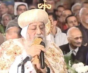 محافظ الإسكندرية للبابا تواضروس: وجود الرئيس في الكاتدرائية أرسل رسالة سلام للعالم كله