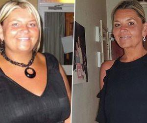 إنقاص الوزن ليس له سن .. سيدة خمسينية تقرر عمل رجيم وتفقد نصف وزنها لتستمتع بالحياة ً