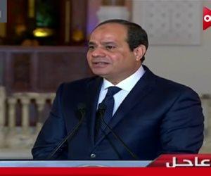 """السيسي يشهد انطلاق فعاليات اليوم الثالث من مؤتمر """"حكاية وطن"""".. بعد قليل"""