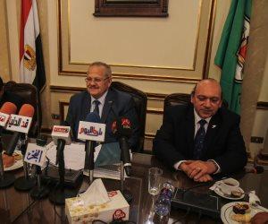 """الخشت يعلن تفاصيل المشروع """"الحلم"""" بجامعة القاهرة (صور)"""
