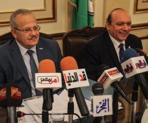 """رئيس جامعة القاهرة لـ""""صوت الأمة"""": تطوير المستشفيات لن يشمل زيادة عدد الآسرة (صور)"""