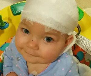 نعومي خيبت كل الظنون وعاشت بعد أن أصيبت بسكتة دماغية وهي في رحم أمها