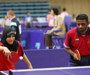 62 لاعبا يمثلون مصر فى تنس الطاولة بالاولمبياد الخاص بأبو ظبى 2018 (صور)